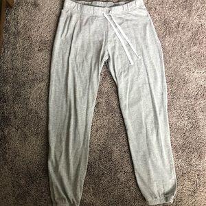 H&M classic grey drawstring jogger sweatpants